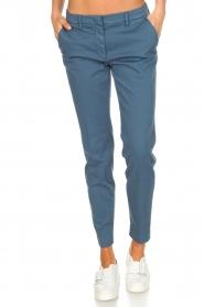 MASONS   Pantalon New York   Blauw    Afbeelding 2