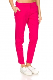 MASONS |  Trousers New York | Pink  | Picture 4