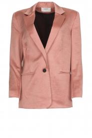 ba&sh |  Satin blazer Darcy | pink  | Picture 1