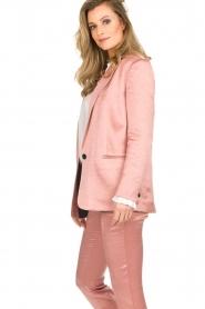 ba&sh |  Satin blazer Darcy | pink  | Picture 4