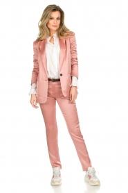 ba&sh |  Satin blazer Darcy | pink  | Picture 3