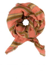 Scarf Maelynn | pink and green