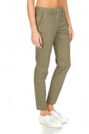 MASONS | Pantalon New York | Groen  | Afbeelding 4