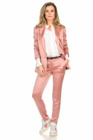 ba&sh |  Satin trousers Dana | pink  | Picture 2