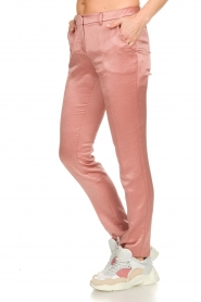 ba&sh |  Satin trousers Dana | pink  | Picture 4