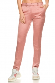 ba&sh |  Satin trousers Dana | pink  | Picture 3