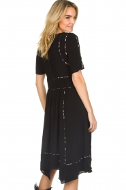 ba&sh |  Midi dress Flavie | black  | Picture 7