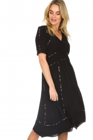 ba&sh |  Midi dress Flavie | black  | Picture 4