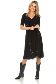 ba&sh |  Midi dress Flavie | black  | Picture 3