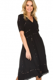 ba&sh |  Midi dress Flavie | black  | Picture 5
