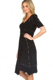 ba&sh |  Midi dress Flavie | black  | Picture 6