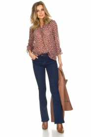 ba&sh |  Blouse with floral print Beatrix | red  | Picture 3