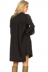 Copenhagen Muse |  Dress with lace Madelyn | black  | Picture 7