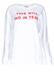 Zoe Karssen |  Sweater End in Tears | white  | Picture 1