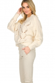 ba&sh |  Knitted sweater Pavot | natural  | Picture 6