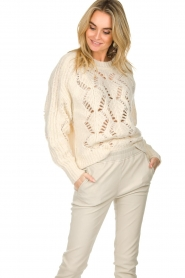 ba&sh |  Knitted sweater Pavot | natural  | Picture 2