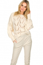 ba&sh |  Knitted sweater Pavot | natural  | Picture 4