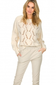 ba&sh |  Knitted sweater Pavot | natural  | Picture 5