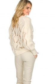 ba&sh |  Knitted sweater Pavot | natural  | Picture 7