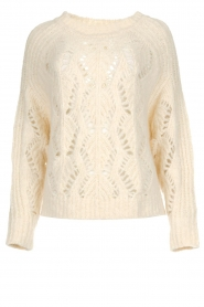 ba&sh |  Knitted sweater Pavot | natural  | Picture 1