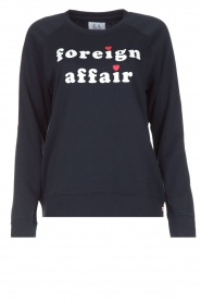 Trui Foreign Affair | donkerblauw