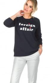 Zoe Karssen | Trui Foreign Affair | donkerblauw  | Afbeelding 2