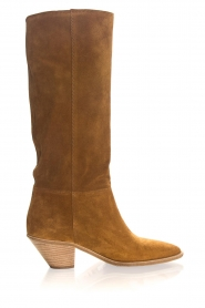 ba&sh |  Suede boots Cowby | brown  | Picture 4