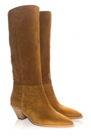 ba&sh |  Suede boots Cowby | brown  | Picture 5