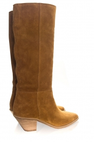 ba&sh |  Suede boots Cowby | brown  | Picture 6