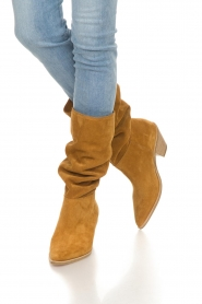ba&sh |  Suede boots Cowby | brown  | Picture 3