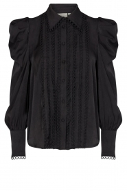Copenhagen Muse    Blouse with puff sleeves Ultra   black    Picture 1