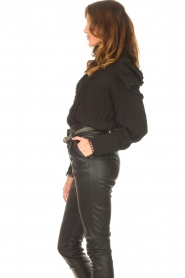 Copenhagen Muse    Blouse with puff sleeves Ultra   black    Picture 6