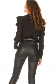 Copenhagen Muse    Blouse with puff sleeves Ultra   black    Picture 7