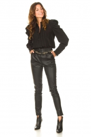 Copenhagen Muse    Blouse with puff sleeves Ultra   black    Picture 3