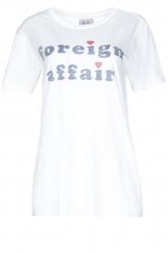 Zoe Karssen | T-shirt Foreign Affair | wit  | Afbeelding 1