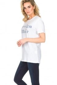 Zoe Karssen | T-shirt Foreign Affair | wit  | Afbeelding 4