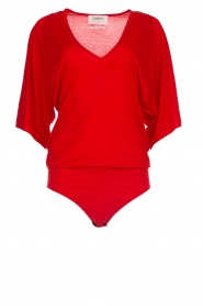 Body top Niels | rood