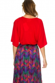 ba&sh |  Body top Niels | red  | Picture 5