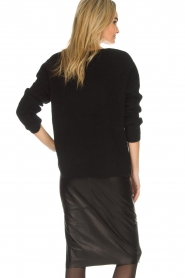 Dante 6 |  Sweater with button details Diaz | black  | Picture 5