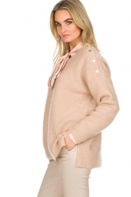 Dante 6 |  Sweater with button details Diaz | Beige   | Picture 4