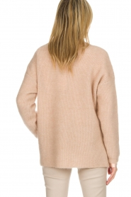 Dante 6 |  Sweater with button details Diaz | Beige   | Picture 5