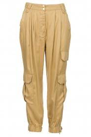 Copenhagen Muse |  Cargo pants Aviv | camel  | Picture 1