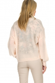Dante 6 |  Cardigan with button Fade | pink  | Picture 5