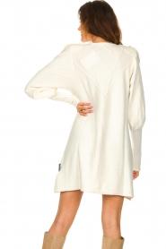 Silvian Heach |  Sweater dress wtih ruffles Rigel | natural  | Picture 7