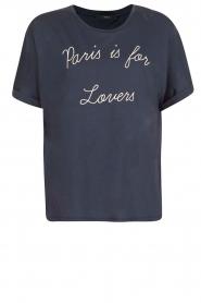 Set | T-shirt Céra | Blauw  | Afbeelding 1