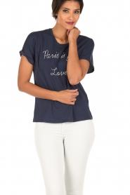 Set | T-shirt Céra | Blauw  | Afbeelding 2