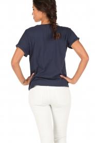 Set | T-shirt Céra | Blauw  | Afbeelding 4