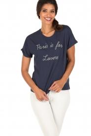 Set | T-shirt Céra | Blauw  | Afbeelding 5