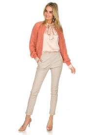 Dante 6 |  Cardigan with button Fade | old pink   | Picture 3