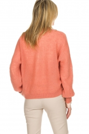 Dante 6 |  Cardigan with button Fade | old pink   | Picture 5